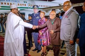 President Buhari on 3 day visit to South Africa